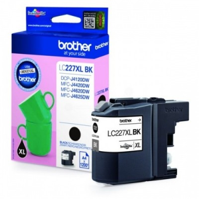 Brother Ink LC 227XL Must 1,2k (LC227XLBK)