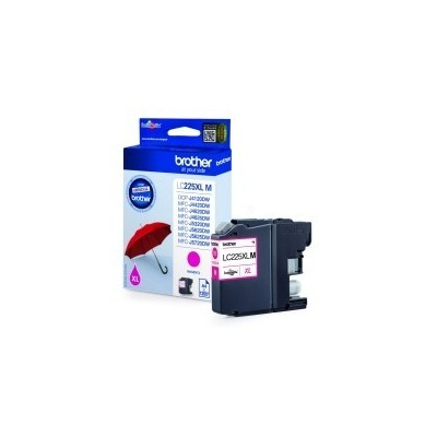 Brother Ink LC 225XL Roosa 1,2k (LC225XLM)