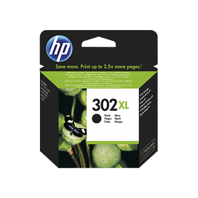 HP Ink No.302XL Must (F6U68AE)