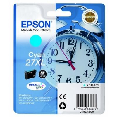 Epson Ink No.27XL Sinine (C13T27124012) 1,1k DURABrite Ultra 27XL