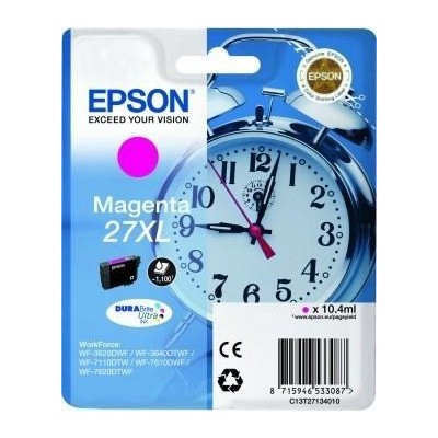 Epson Ink No.27XL Roosa (C13T27134012)