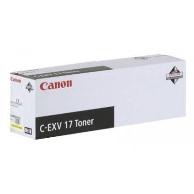 Canon tooner C-EXV 17 Kollane (0259B002)