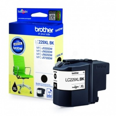 Brother Ink LC 229XL Must 2,4k (LC229XLBK)