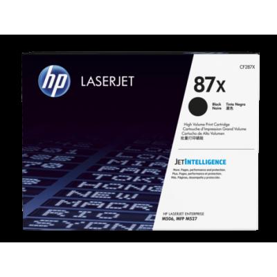 HP kassett No.87X Must (CF287X)