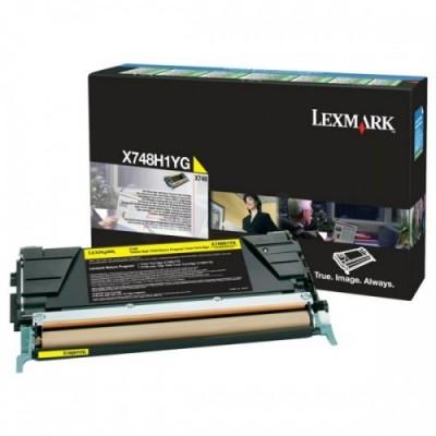 Lexmark kassett Return Kollane (X748H1YG)