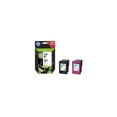 HP Ink No.301 Combo Pack Must + Color (N9J72AE)