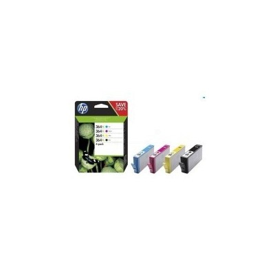 HP Ink No.364 XL Combo Pack Must + Color (N9J74AE)