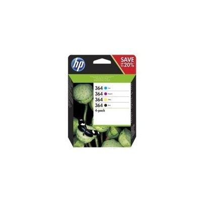 HP Ink No.364 Combo Pack Must + Color (N9J73AE)