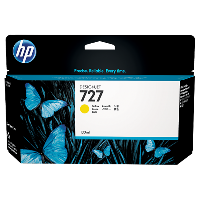 HP Ink No.727 Kollane (B3P21A)