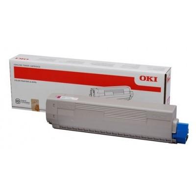 Oki tooner C 831 Roosa (44844506)