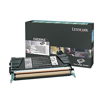 Lexmark kassett Sinine (C5200CS) Return
