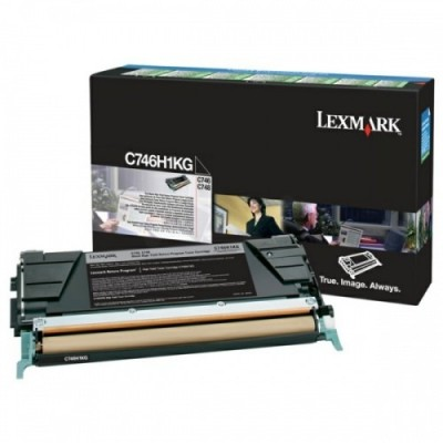 Lexmark kassett Must (C746H1KG) Return