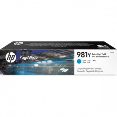 HP Ink No.981Y Sinine (L0R13A)