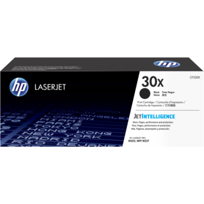 HP kassett No.30X Must (CF230X)