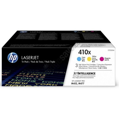 HP kassett No.410X Color (CF252XM) (CF411X+CF412X+CF413X)