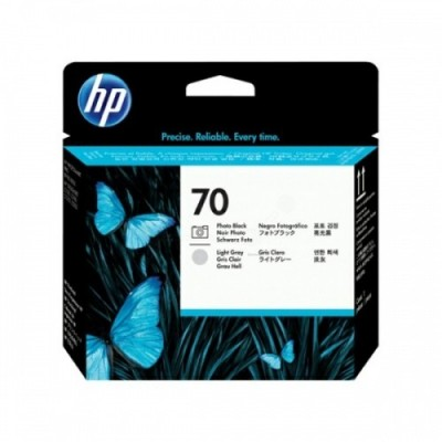 HP Printhead No.70 Must + Light Grey (C9407A)