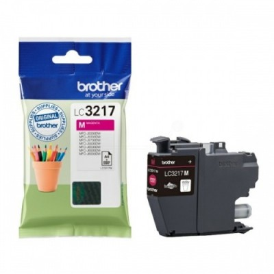 Brother Ink LC 3217 Roosa (LC3217M)