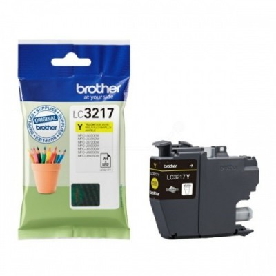 Brother Ink LC 3217 Kollane (LC3217Y)