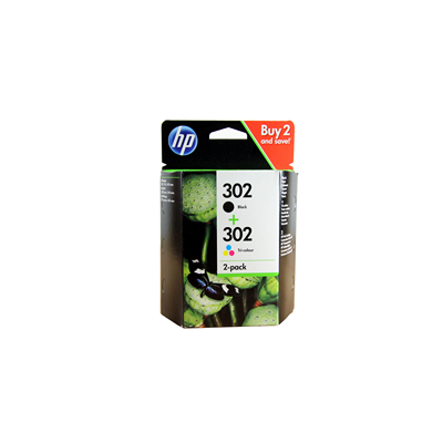 HP Ink No.302 Must + Color (X4D37AE)