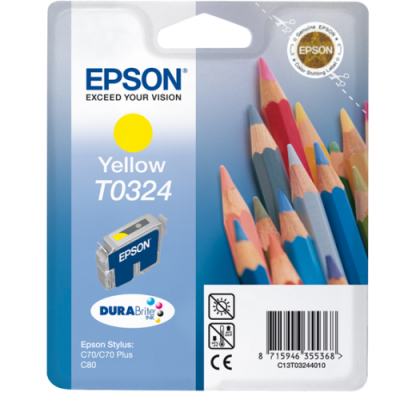 Epson Ink Kollane (C13T03244010) expired date