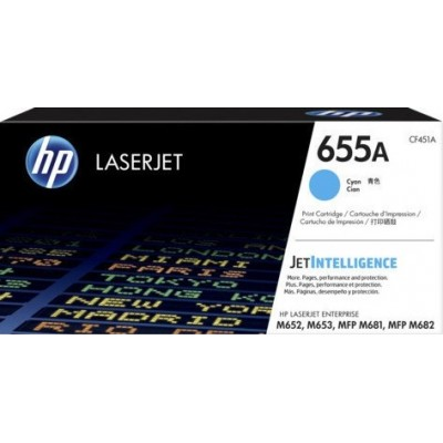 HP kassett No.655A Sinine (CF451A)
