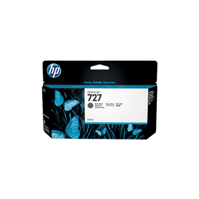 HP Ink No.727 Matte Must (C1Q12A)