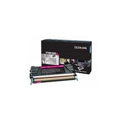 Lexmark kassett Roosa (X748H3MG) Corporate