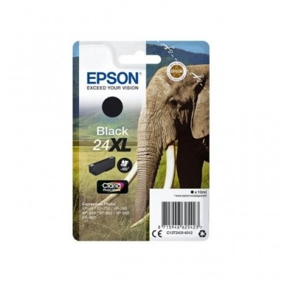 Epson Ink No.24 XL Must (C13T24314012)