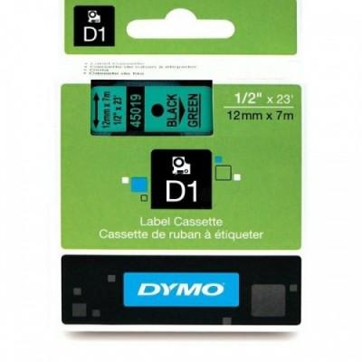 Dymo Schriftband 45019 Green/Must (S0720590)