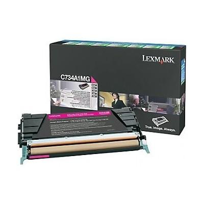 Lexmark kassett Roosa (C734A1MG) Return B Grade