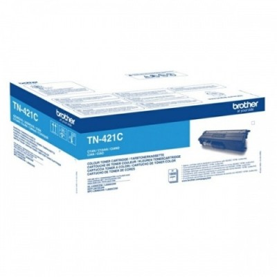Brother tooner TN-421 Sinine 1,8k (TN421C)