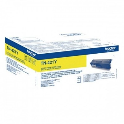 Brother tooner TN-421 Kollane 1,8k (TN421Y)