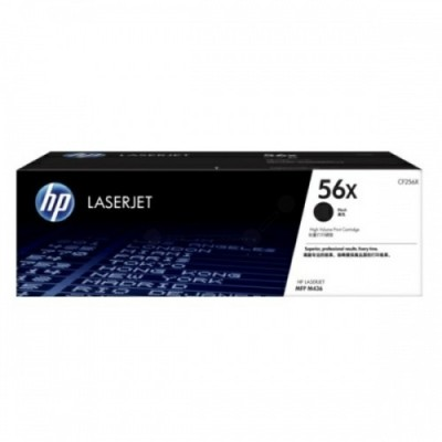 HP kassett No.56X Must (CF256X)