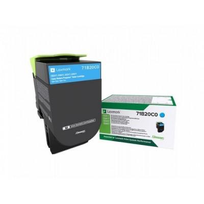 Lexmark kassett Sinine Return 2,3K (71B20C0)