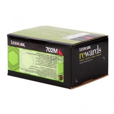 Lexmark toonerikassett return magenta (70C20M0, 702M)