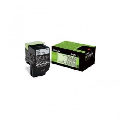 Lexmark toonerikassett return black (80C20K0, 802K)