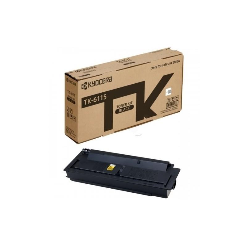 Kyocera toonerikassett black (1T02P10NL0, TK6115)