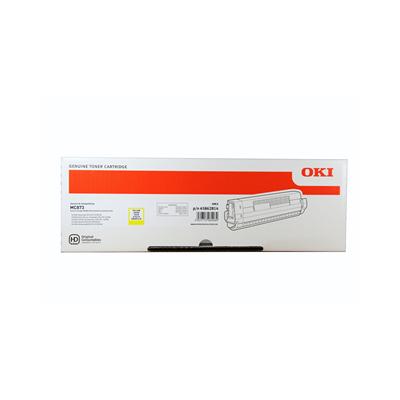 Oki tooner MC873 Kollane 10k (45862814)
