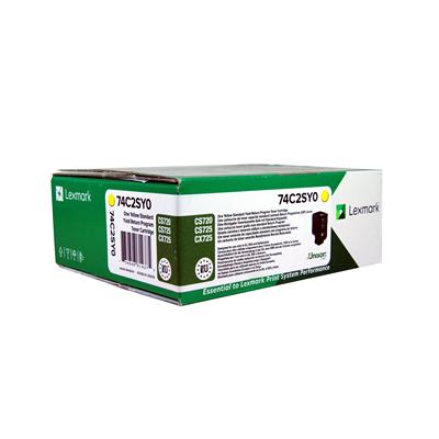 Lexmark kassett Roosa (74C2SME/ 74C2SM0 )