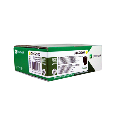 Lexmark kassett Sinine (74C2SCE/ 74C2SC0 )