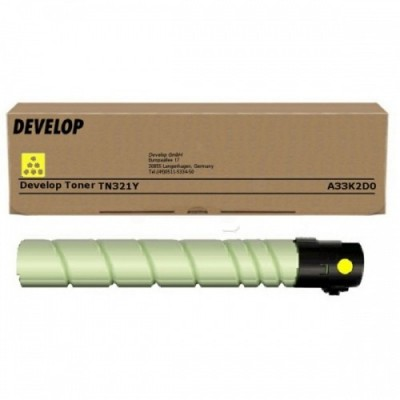 Develop tooner TN-321 Kollane (A33K2D0)