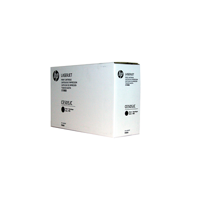 HP CONTRACT kassett No.05X Must (CE505JC)