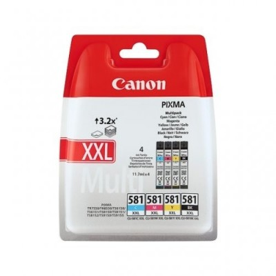 Canon Ink CLI-581 C/M/Y/BK Multipack XXL (1998C005)