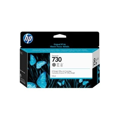 HP 730 130-ml Gray DesignJet Ink kassett (P2V66A)