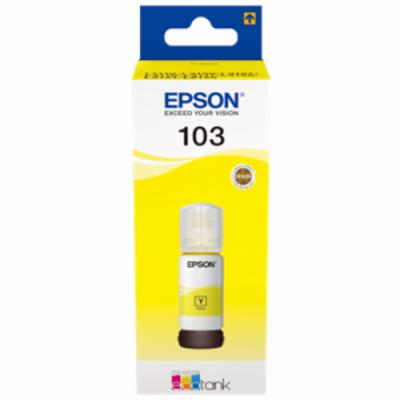 Epson 103 EcoTank Kollane (C13T00S44A) 65ml
