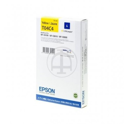 Epson printcartridge yellow (C13T04C440, T04C4)