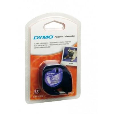 Dymo Schriftband 12267 Clear/Must 12mm