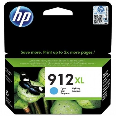 HP printcartridge cyan (3YL81AE, 912XL)