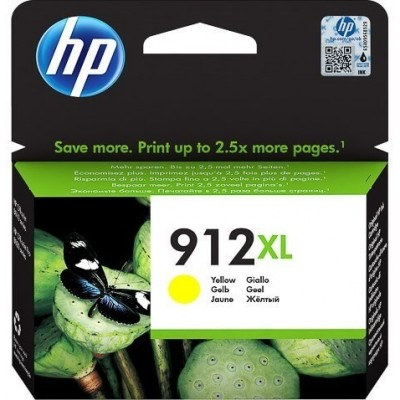 HP printcartridge yellow (3YL83AE, 912XL)