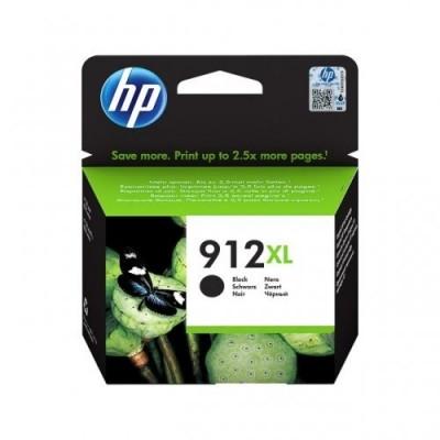 HP printcartridge black (3YL84AE, 912XL)
